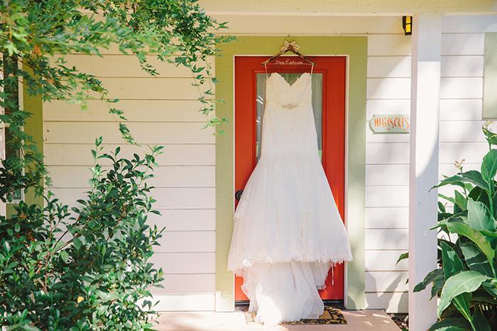 Gorgeous lace provonais gown