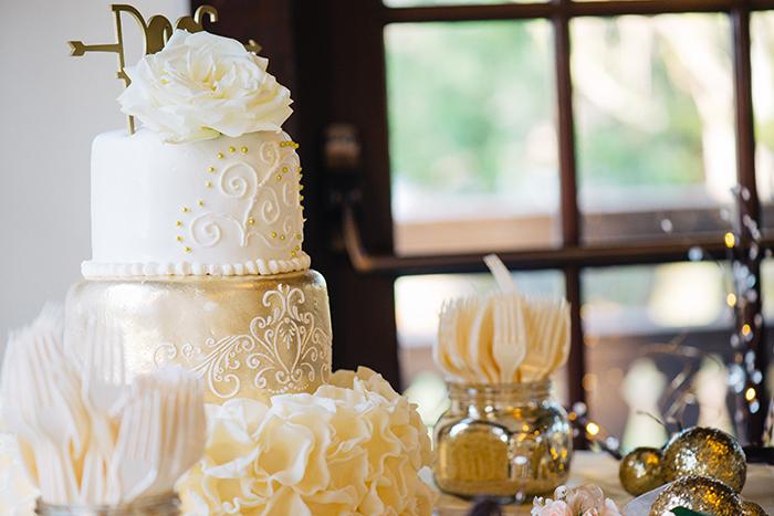 Luxe wedding decor