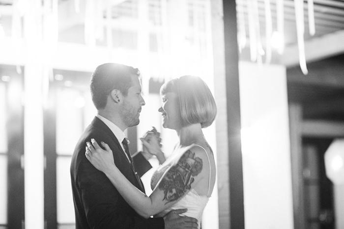 Stunning first dance photo