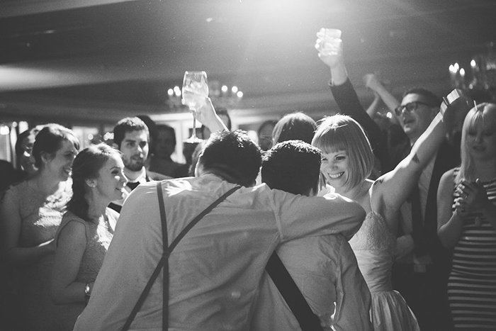 Dance party wedding idea!