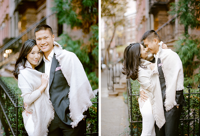 Beautiful couple, and an adorable engagement photo shoot!