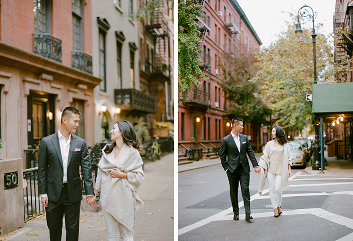 A chic New York engagment