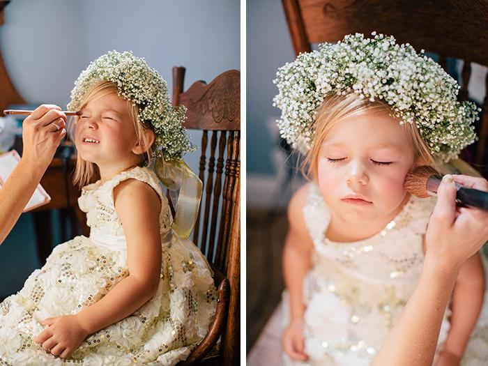 Adorable flower girl!