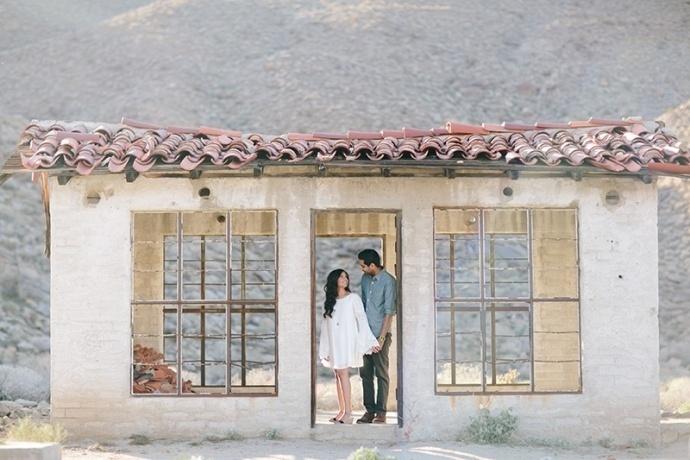 Palm Springs Sahil & Veena engagement by Heather Kincaid