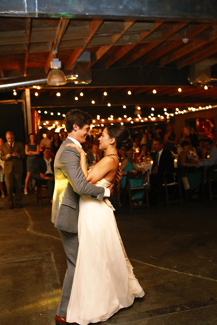 The first dance! Lovely!