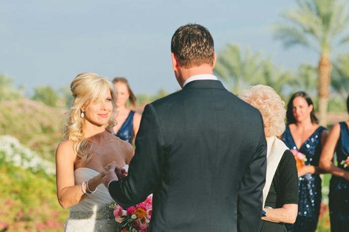 Stunning desert wedding ceremony!