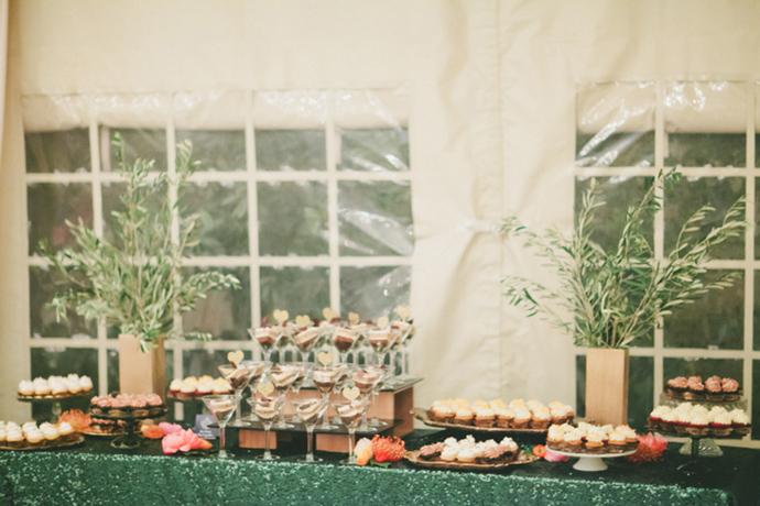 Stunning dessert table decor idea