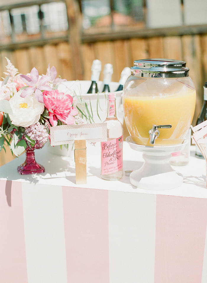 Bridal shower brunch idea. Lovely setup!