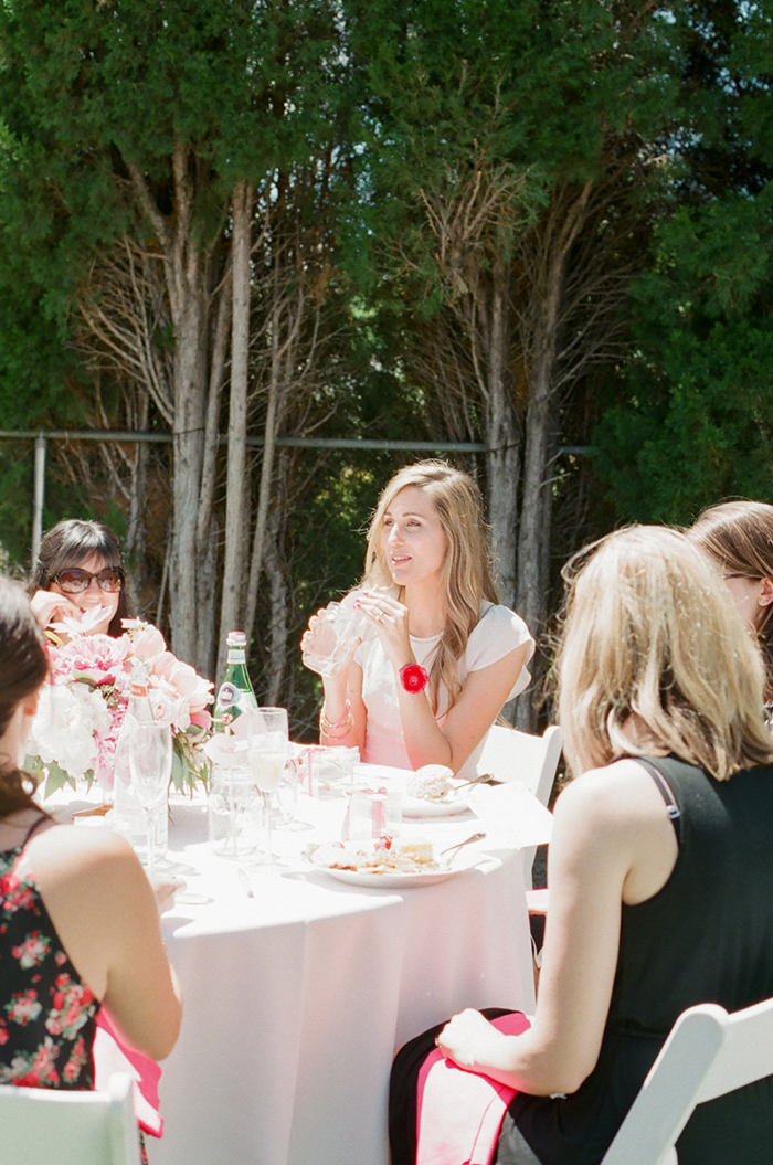Lovely backyard bridal shower inspiration