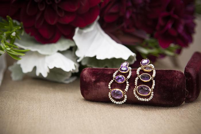Beautiful heirloom wedding jewelry