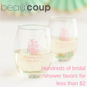 hundreds of bridal shower favors for less than 2 1