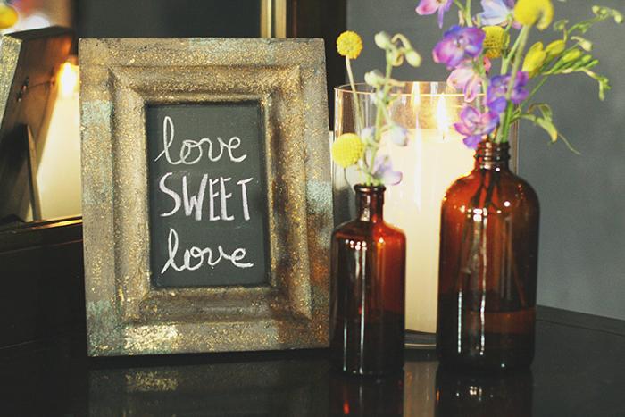 Such a sweet DIY wedding decor touch