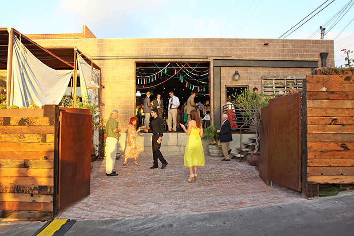 Fun urban wedding reception venue