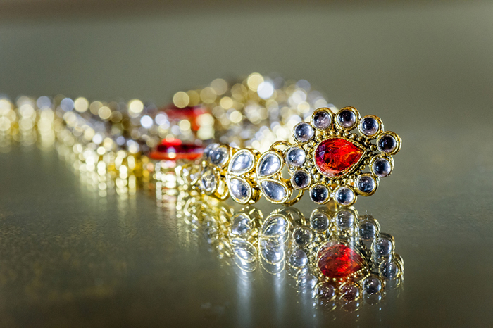 Gorgeous traditional Indian jewelry
