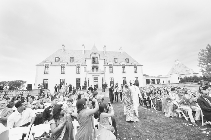Stunning Indian wedding at a castle