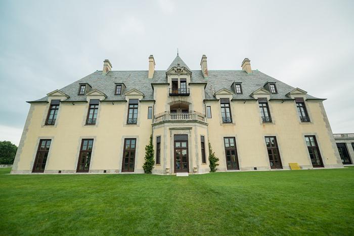 Gorgeous castle estate wedding ceremony