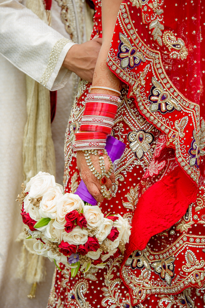 Gorgeous colorful Indian wedding ceremony at a castle! Love this!