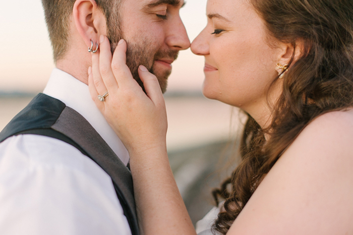 Lovely classic bride and groom photo