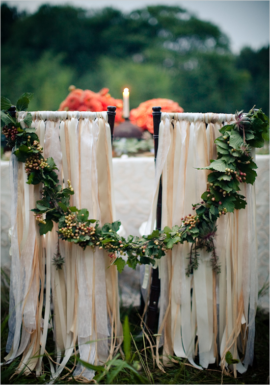 Fun Ways To Incorporate Ribbon Wedding Decor Into Your Ceremony And