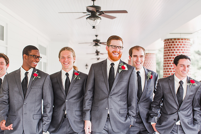 Cute groomsmen in suits. Perfection!