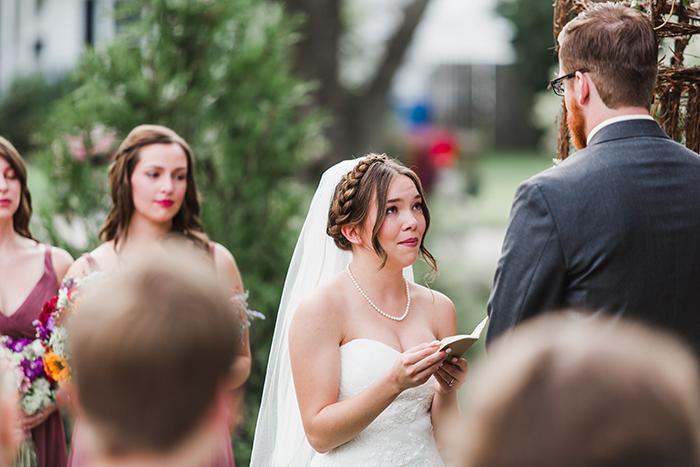 Summer wedding ceremony. Lovely photo!
