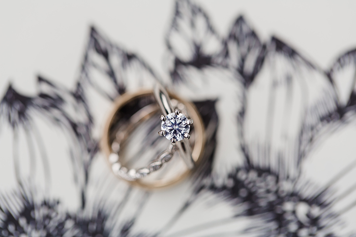 Gorgeous and simple wedding ring sent