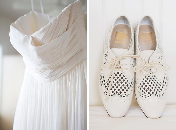 Sweet vintage bridal style