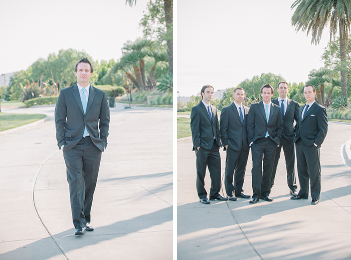 dapper groomsmen photo