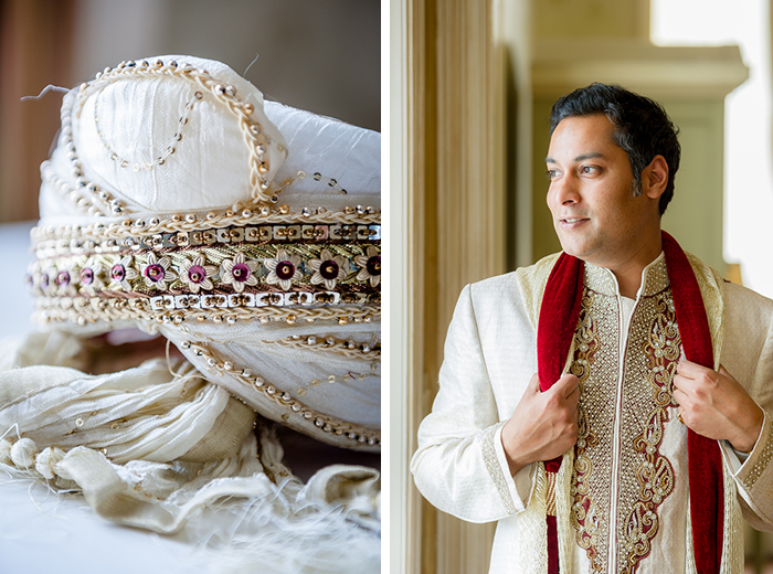 Traditional Indian groom outfit