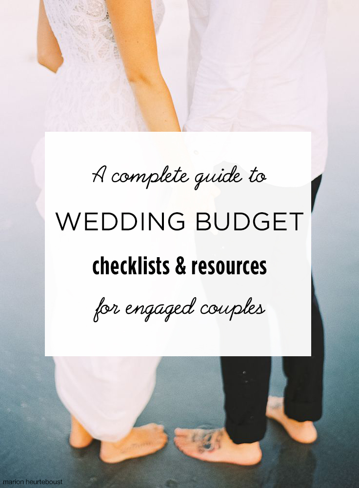 wedding budget checklists and resources for new brides wedpics blog