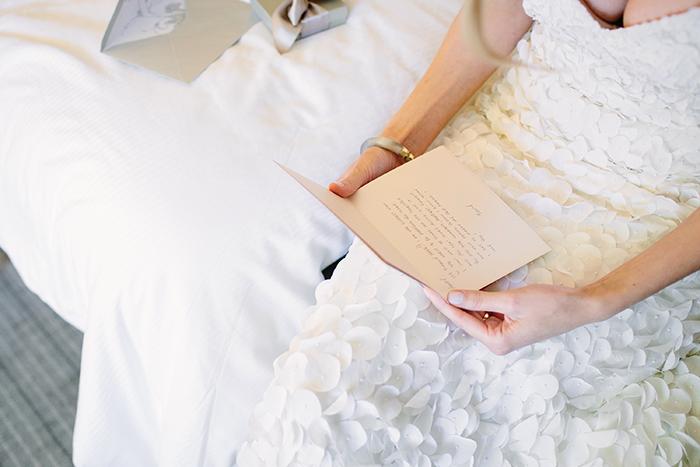 Beautiful bride wedding gift
