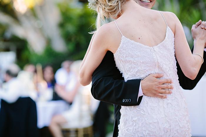 Gorgeous ruffled wedding dress
