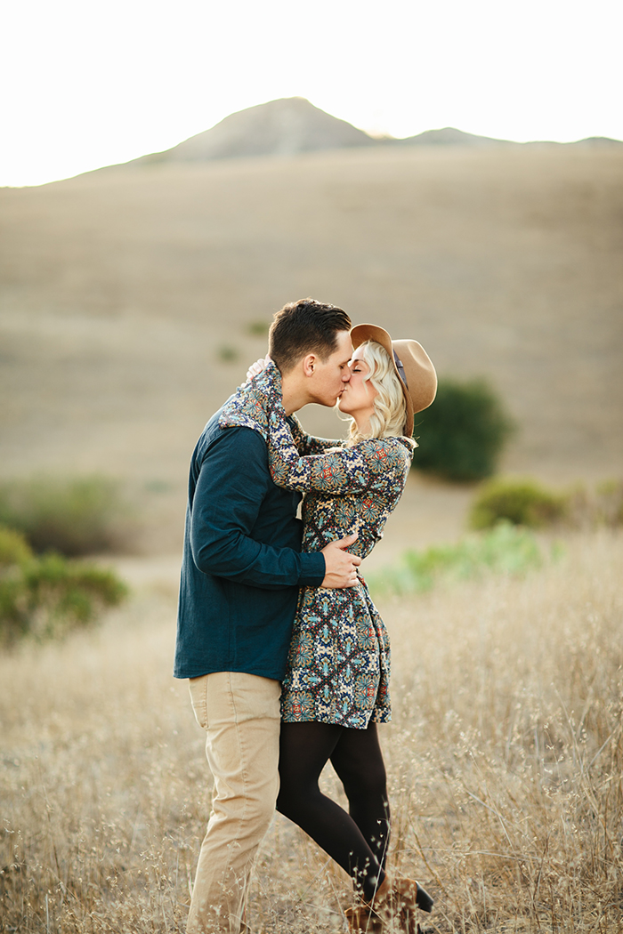 Gorgeous boho golden hour photos for a gorgeous couple!