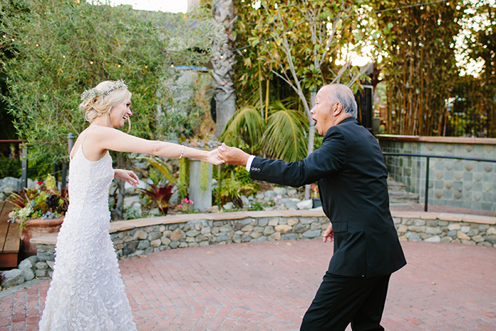 Wedding dance reception photo