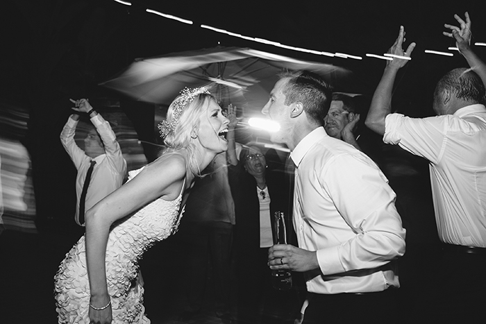 Wedding reception dance photo