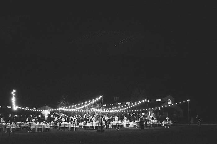 Stunning reception photo and lighting