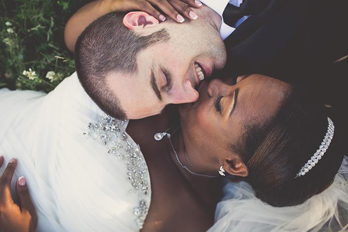 Sweet idea for a wedding photo!