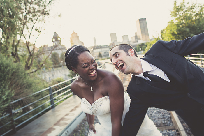Silly wedding day photo — you need them!