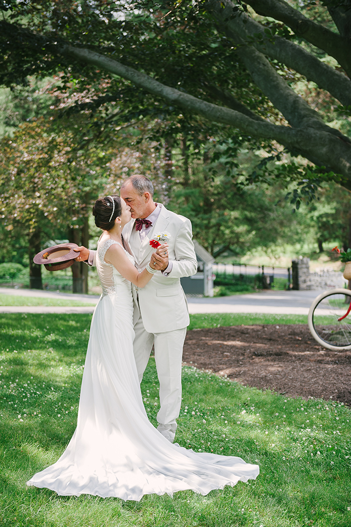 Lovely newlywed photo