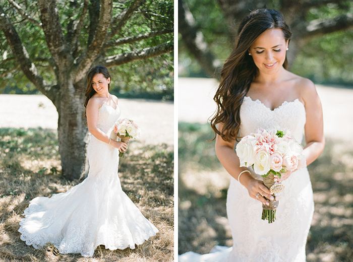 beautiful rustic bridal portraits