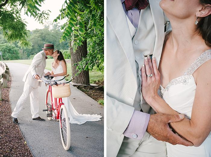 diy bike themed wedding by ardita kola photography