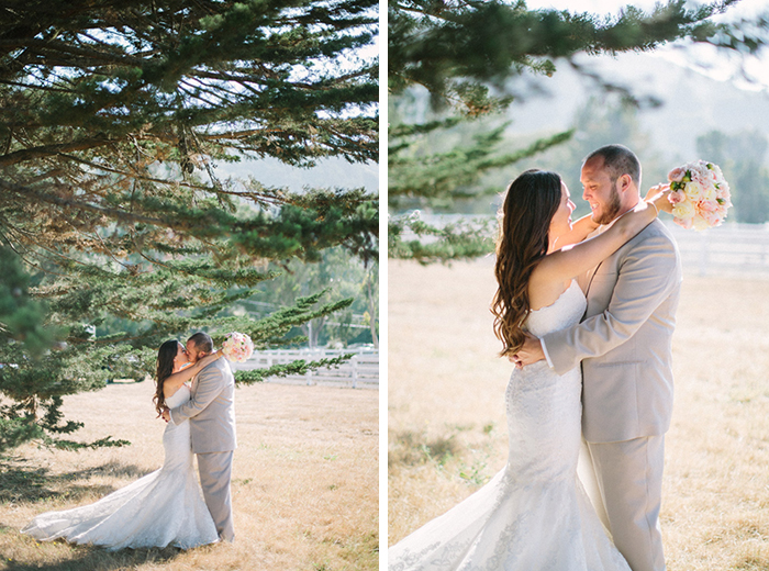 gorgeous rustic wedding portraits