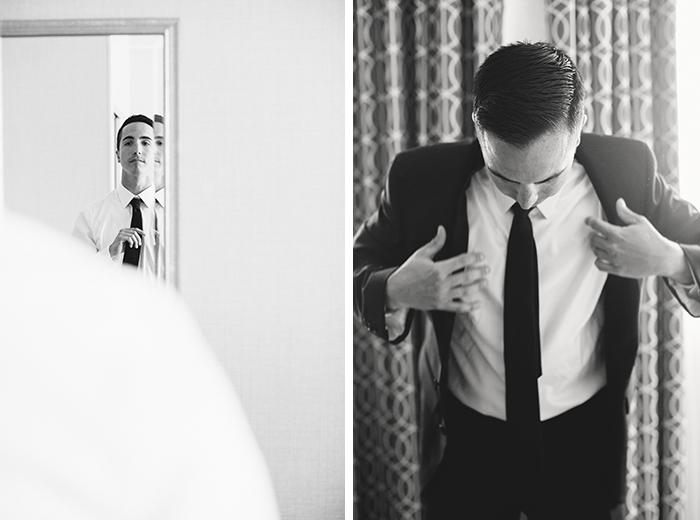 Handsome groom photo