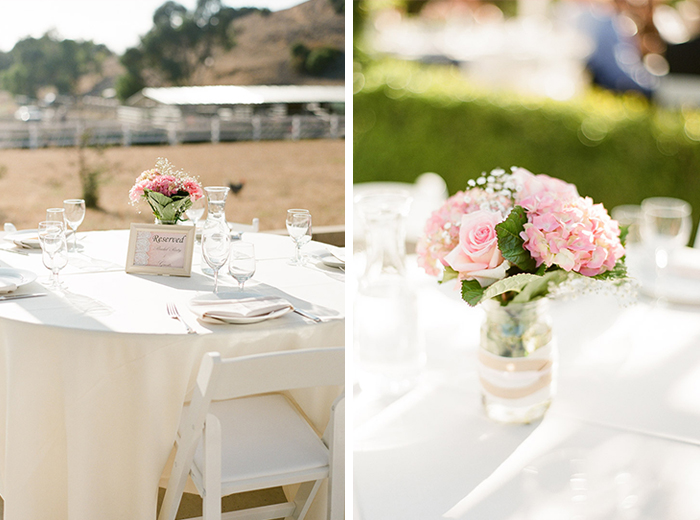 pink rustic wedding decor majesta patterson