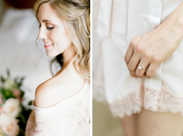 romantic blush pink mountain wedding 12