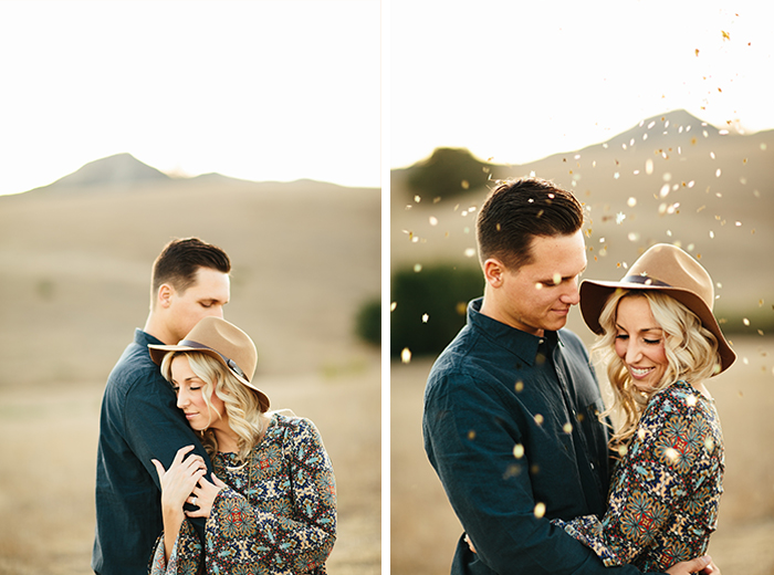 Nothing wrong with a little confetti for your photo shoot!