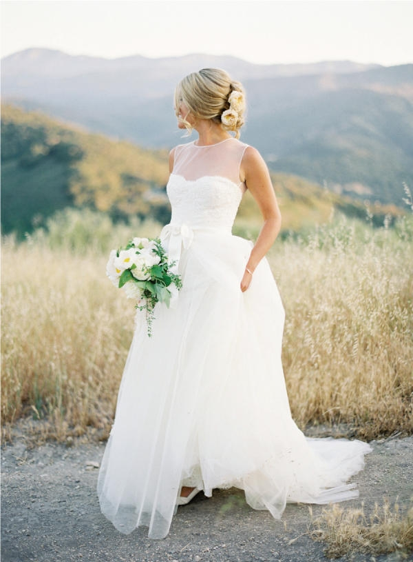 20 daring and wearable sheer wedding dresses — Wedpics Blog
