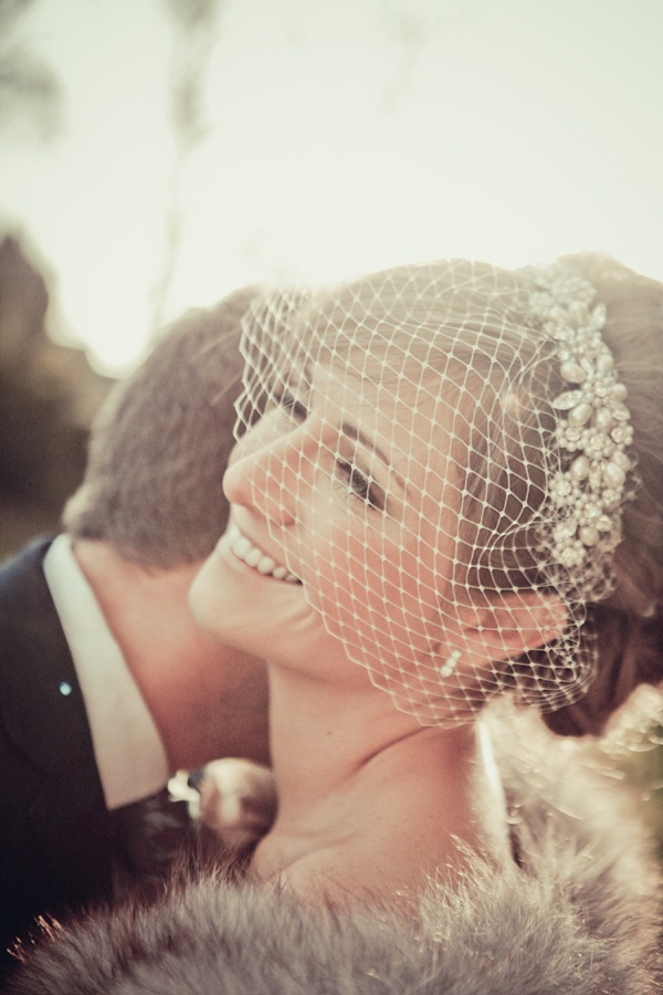 Photo by  Helen Russell Photography  via  Intimate Weddings