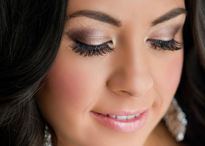 Subtle makeup for wedding