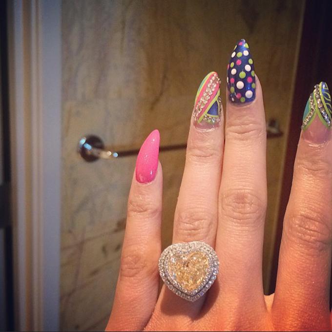 Photo by  Nicki Minaj via Instagram